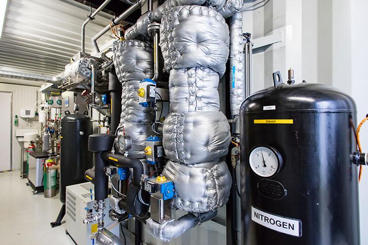 Bio-UP installatie groen gas