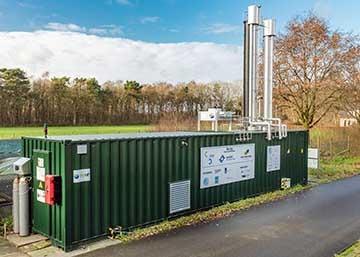 Start project Biogas I 'Mestvergisting met groengas productie'
