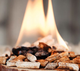 Gasloos Wonen door getorreficeerde biomassa