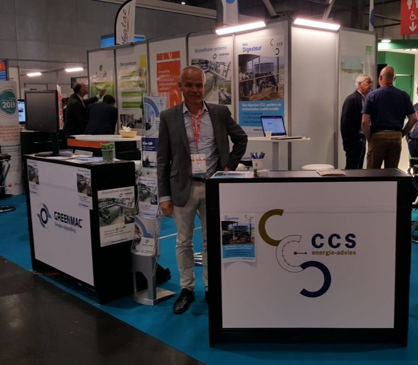CCS presenteert op Biogaz Europe
