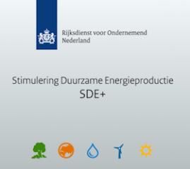 SDE+ subsidie is overtekend