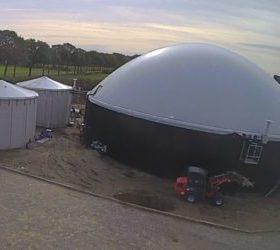 Biogas uit de mestvergister