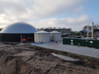 Feeding in green gas: project Biogas I