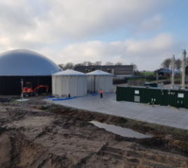 Invoeding groen gas: project Biogas I