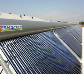 Innovative solar thermal project is started