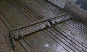 Mono-mestvergisting dichte stalvloer
